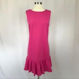 Betsey Johnson Sleeveless Crepe Cocktail Dress